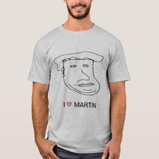 T-shirt de Martin Luther du ♥ I