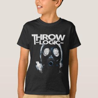 T-shirt de masque de gaz du garçon