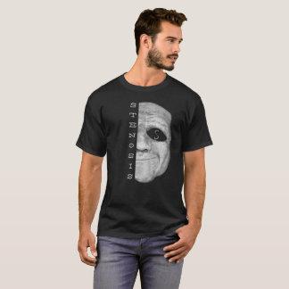 T-shirt de masque de la sténose des hommes