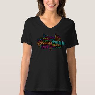 T-shirt de massage : Thérapeute de massage