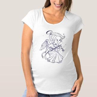 T-Shirt De Maternité Ange mignon jouant le violon