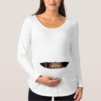 T-Shirt De Maternité Bébé de soulèvement