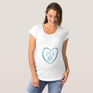 T-Shirt De Maternité C'est une chemise de maternité de GARÇON