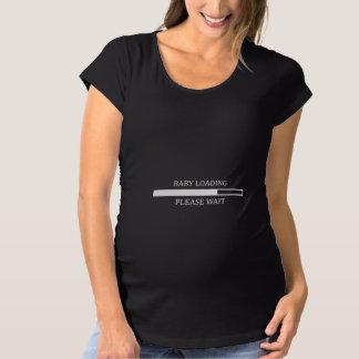 T-Shirt De Maternité Chargement de bébé. Attendez svp…