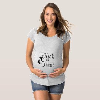 T-Shirt De Maternité Chemise de maternité de coup-de-pied ou de festin