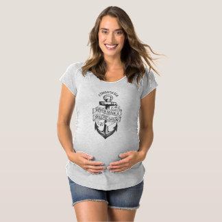 T-Shirt De Maternité Chemise habile de marin de mer lisse inspirée