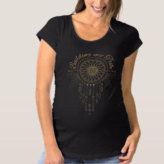 T-Shirt De Maternité Construction de ma tribu