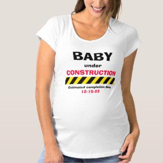 T-shirt de maternité de femmes de grossesse de