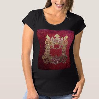 T-Shirt De Maternité Encre de Falln souillée cramoisie