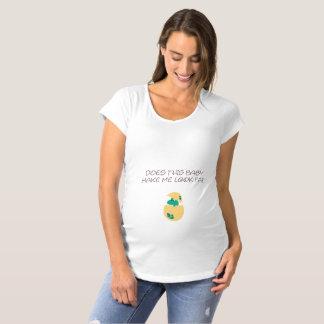 T-Shirt De Maternité Fait ce bébé me font le FAT de regard avec le