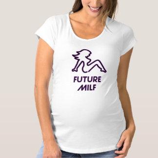 T-Shirt De Maternité Future chemise de maternité de MILF