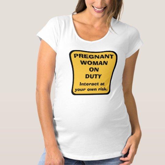T-shirt de maternité humoristique de grossesse --