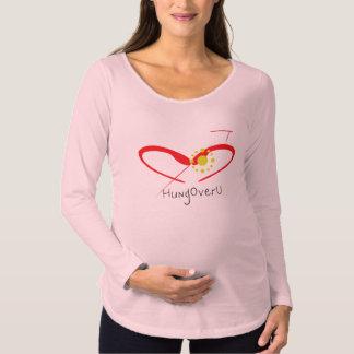 T-Shirt De Maternité HungOverU pour femmes enceintes