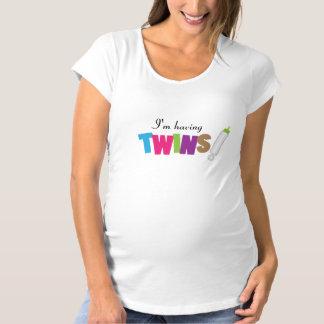 T-Shirt De Maternité J'ai des jumeaux