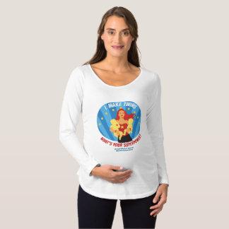 T-Shirt De Maternité Je fais des jumeaux - quelle est la votre