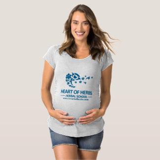 T-Shirt De Maternité Maternité de fines herbes T d'école