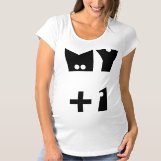T-Shirt De Maternité Mon plus