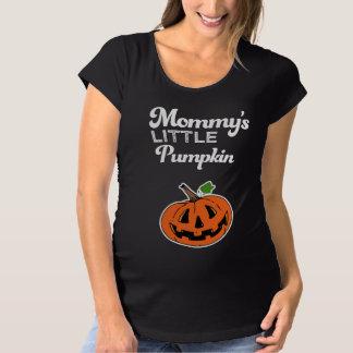 T-Shirt De Maternité Peu de chemise de Halloween du citrouille de la