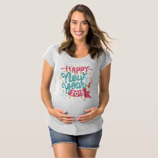 T-Shirt De Maternité Pièce en t colorée personnalisable de maternité de