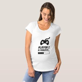 T-Shirt De Maternité Player 2 in progress