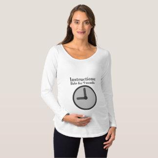 T-Shirt De Maternité Suivez la recette