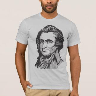 T-shirt de matrice de points de Thomas Paine