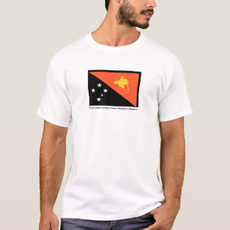 T-shirt de mission de la Papouasie-Nouvelle-Guinée