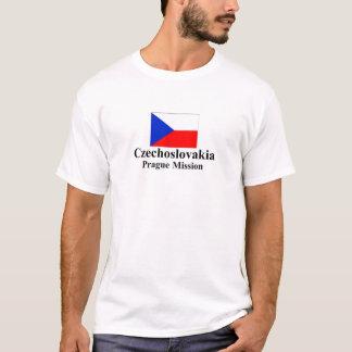 T-shirt de mission de la Tchécoslovaquie Prague