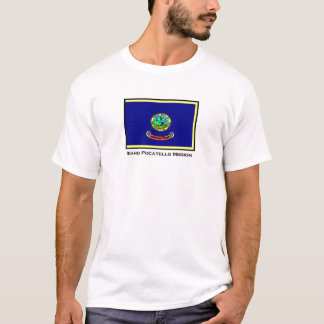 T-shirt de mission de l'Idaho Pocatello LDS