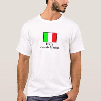 T-shirt de mission de l'Italie Catane