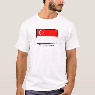 T-shirt de mission de Singapour LDS
