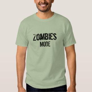 T-shirt de mode de zombis