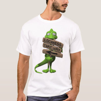 T-shirt de monstre de Loch Ness