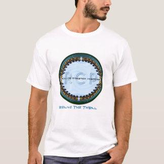 T-shirt de montagnes russes