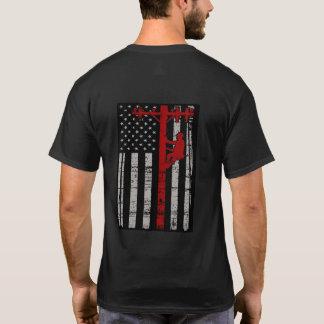 T-shirt de monteur de lignes de B&W
