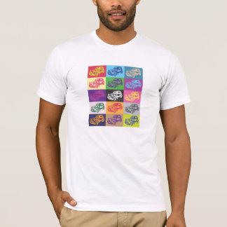 T-shirt de mosaïque de Citroen 2CV