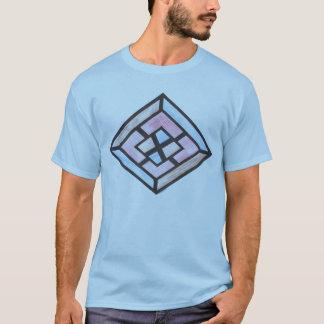 T-shirt de motif de diamant