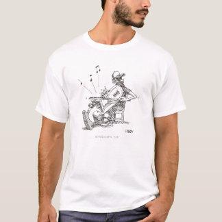 T-shirt de musicien de scie à ruban
