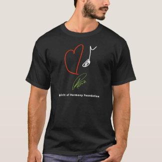 T-shirt de musique d'amour