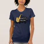 T-shirt de musique de jazz