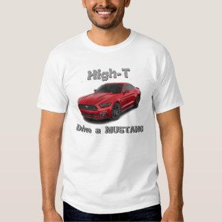"T-shirt de ""mustang"""