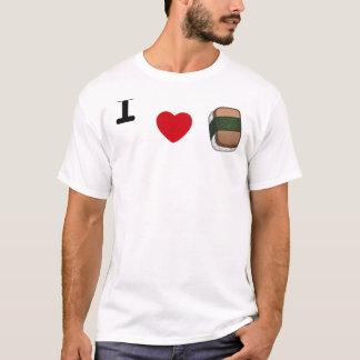 T-shirt de Musubi du *heart* I (blanc)