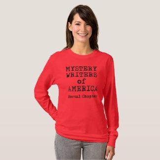 T-shirt de MWA, la longue douille des femmes,