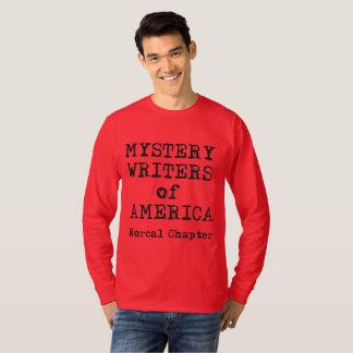 T-shirt de MWA, la longue douille des hommes,