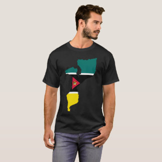 """T-shirt de nation de la """"Mozambique"""""""