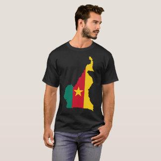 T-shirt de nation du Cameroun