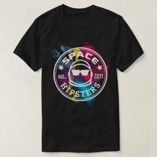 T-shirt de nébuleuse de hippies de l'espace