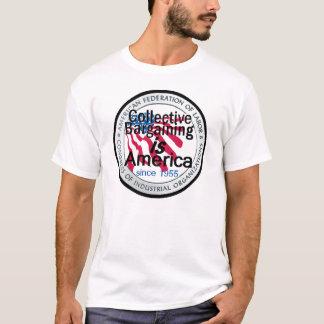 T-shirt de négociation collective