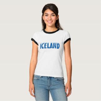 T-SHIRT DE NEIGE DE L'ISLANDE