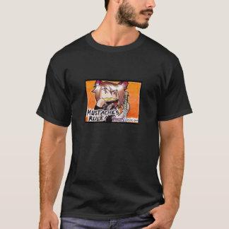 T-shirt de Ninja de moustache